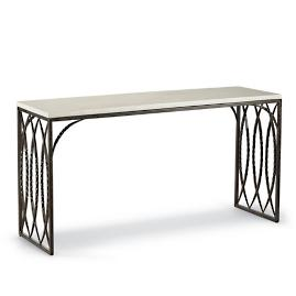Valetta Iron Console Table