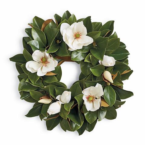 Magnolia Wreath Frontgate