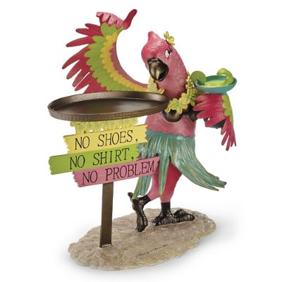 Margaritaville Polly The Parrot Party Table Frontgate