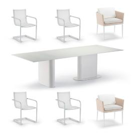 Palazzo Shell 7-pc. Dining Set