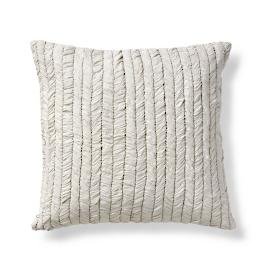 Adalina Metallic Ruched Euro Pillow