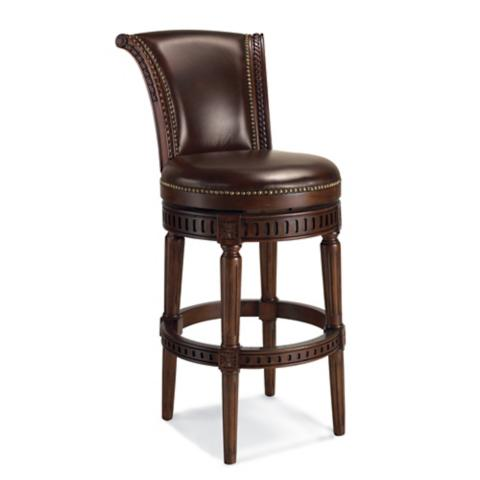 Manchester Swivel Bar Height Bar Stool 30 Quot H Seat Frontgate