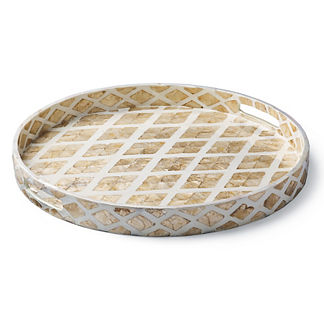 Donatella Capiz Shell Serving Tray