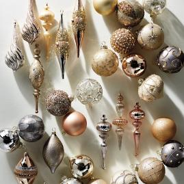 Mixed Metals 60-pc. Ornament Collection