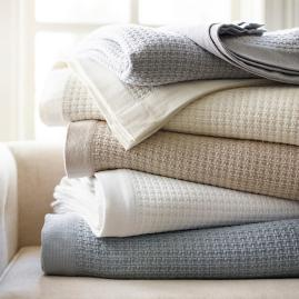 thermal cotton blanket. Resort Egyptian Cotton Thermal Blanket