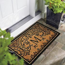 Easton Coco Mat & Wayland Last Name Personalized Door Mat | Frontgate