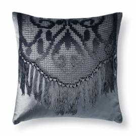 Dutch Lace Velvet Decorative Pillow by Aviva Stanoff