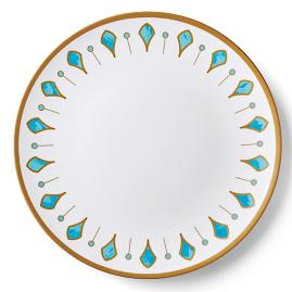 Donatella Capri Melamine Chip & Dip Server