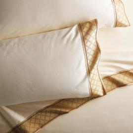 Palladio Woven Flange Pillowcases, Set of Two