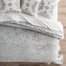 Calabria Quilted Coverlet