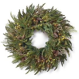 Donatella Cordless Wreath