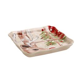 Casafina Deer Friends Square Tray