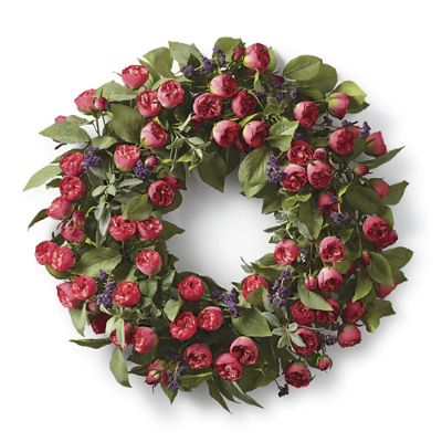 Bella Rose Wreath Frontgate