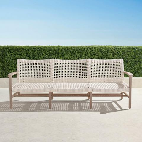 Merveilleux Isola Sofa In Weathered Finish