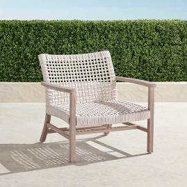 Isola Lounge Chair in Weathered Finish