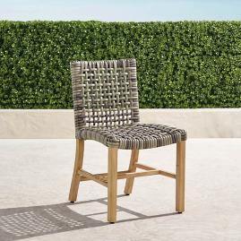 Isola Side Chair in Natural Finish, Set of
