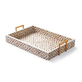 Coco Penshell Rectangular Copper Tray