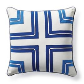 Corner Tile Outdoor Pillow