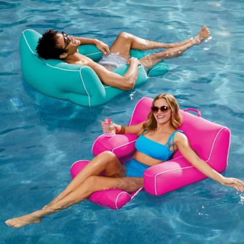 floating mesh pool chair frontgate