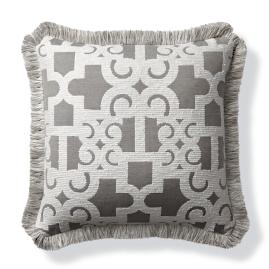 Oriental Gate Dove Indoor/Outdoor Pillow