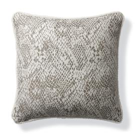 Techno Skin Pewter Indoor/Outdoor Pillow
