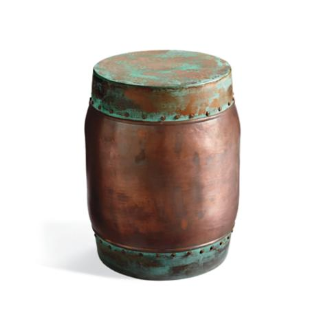 plated colored stool copper garden