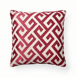 Fuchsia Firewall Decorative Pillow