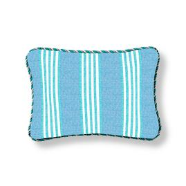 Berwyn Stripe Capri Outdoor Lumbar Pillow