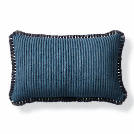 Dalaman Peacock Outdoor Lumbar Pillow