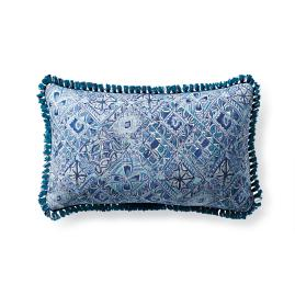 Mosaic Vibe Capri Outdoor Lumbar Pillow