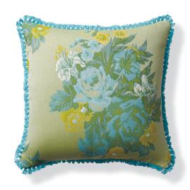 Cosette Bouquet Citrus Outdoor Pillow