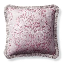 Fresco Frame Fuchsia Outdoor Pillow