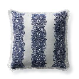 Hazlemere Indigo Outdoor Pillow