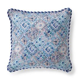 Mosaic Vibe Petal Outdoor Pillow