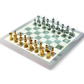 Purling of London Luxury Dark Chess Set