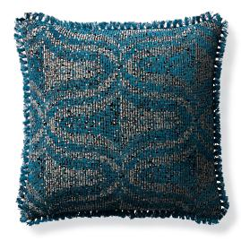 Alanya Peacock Outdoor Pillow