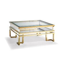 Palmer Sliding Square Coffee Table