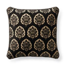 Denby Velvet Onyx Outdoor Pillow
