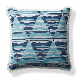Arizona Sunrise Santorini Outdoor Pillow
