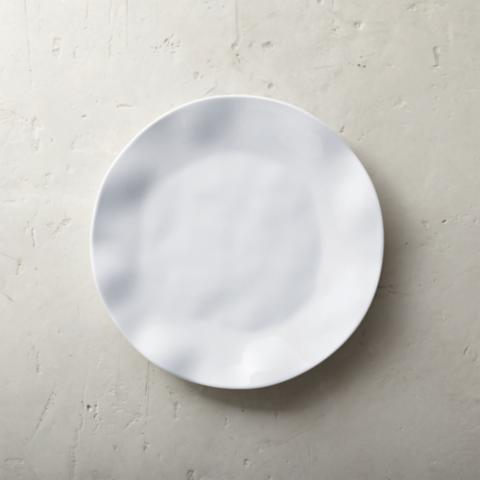 Round Ruffle Melamine Dinner Plates Set of Four & Round Ruffle Melamine Dinner Plates Set of Four | Frontgate