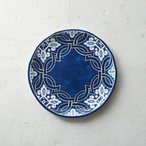 Mediterranean Tile Dinner Plates Set of Four  sc 1 st  Frontgate & Mediterranean Tile Dinner Plates Set of Four | Frontgate