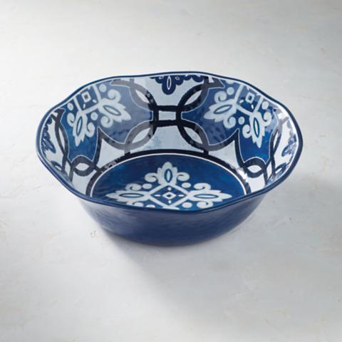 Mediterranean Tile Serving Bowl & Mediterranean Tile Dinnerware | Frontgate