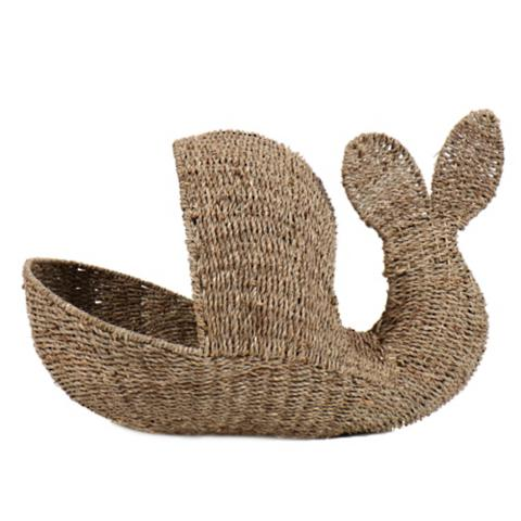 Greatest Seagrass Whale Basket   Frontgate LD91