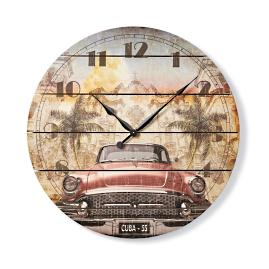 Classic Car Outdoor Clock