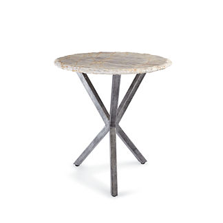 Cut Marble Side Table by Porta Forma