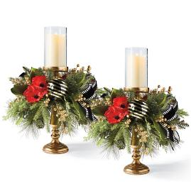 Hadley Place Candle Holders, Set of Two