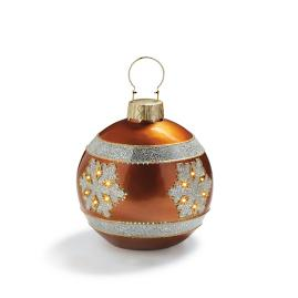 Fiber Optic LED Copper Ornament
