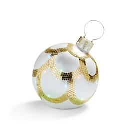 Fiber Optic LED Pearl Ornament
