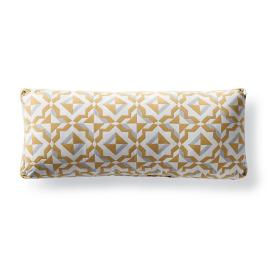 Bahia Saffron Outdoor Lumbar Pillow by Martyn Lawrence