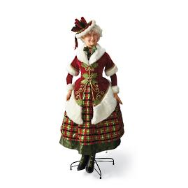 Life-size Traditional Mrs. Claus by Katherine's Collection